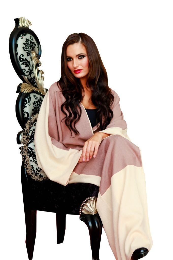 resized_High Resolution - White & Brown Abaya