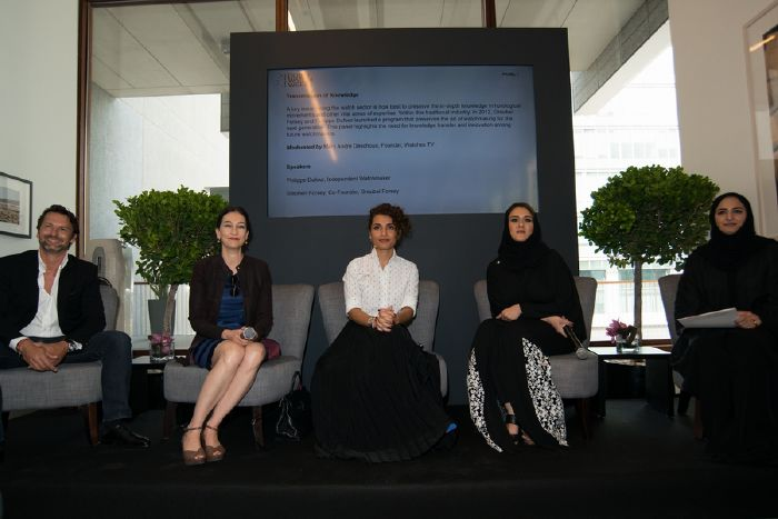 resized_(L-R) Maximilian Busser, Carine Maillard, Melika Yazdjerdi, Hind Seddiqi, Latifa Mohd Bin Demaithan
