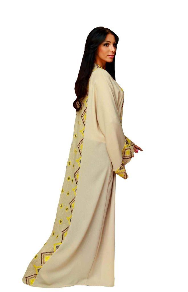 resized_Yellow Abaya