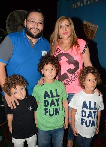 أحمد رزق وزوجته