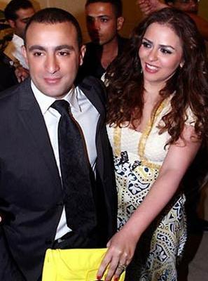 السقا وزوجته