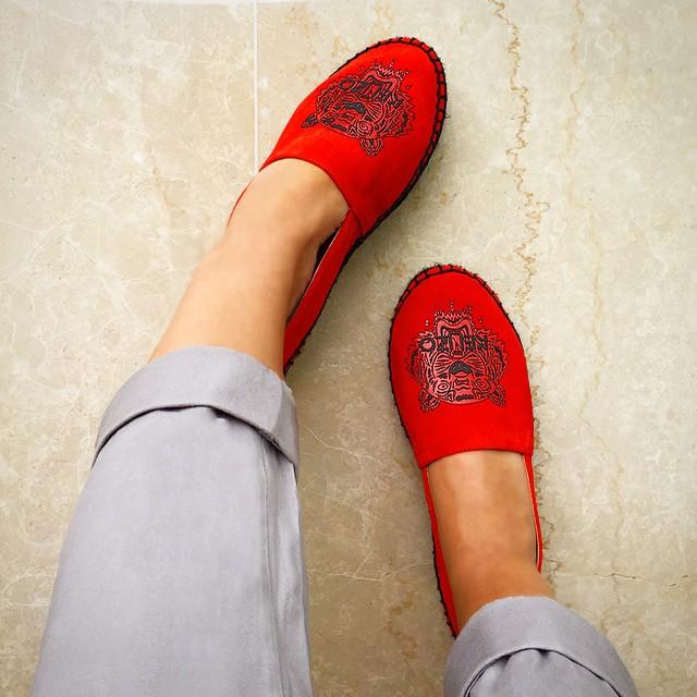 اللون الأحمر الصارخ