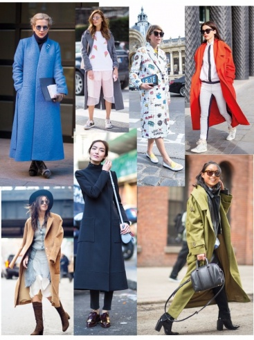 المعطف الطويل - Long coat