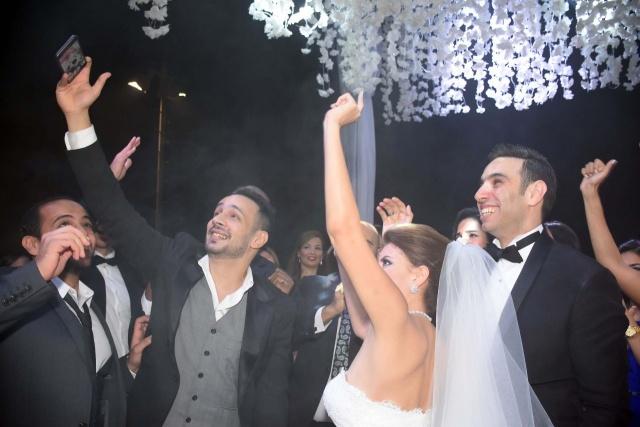 حفل زفاف نجم واما (14)