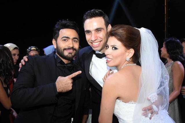 حفل زفاف نجم واما (2)