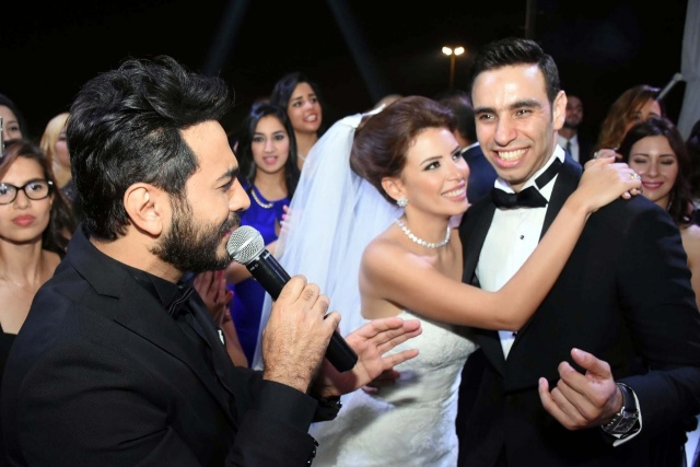 حفل زفاف نجم واما (3)