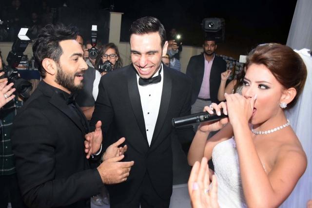 حفل زفاف نجم واما (4)