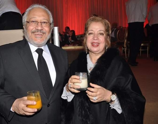 خالد زكي وزوجته