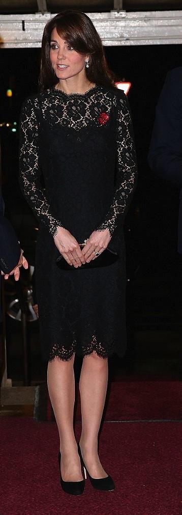 سبق وشاهدنا دوقة كامريدج في فستان مشابه جداً من فترة قصيرة