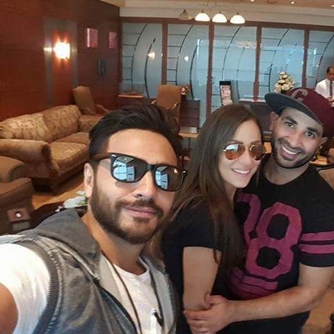 سعد وريم وتامر سيلفي في مكار لبنان