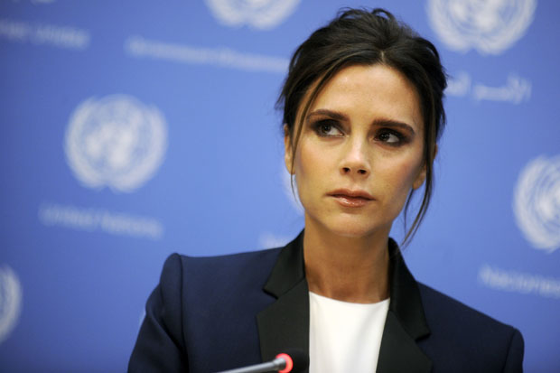 Victoria Beckham becomes UNAIDS International Goodwill Ambassador