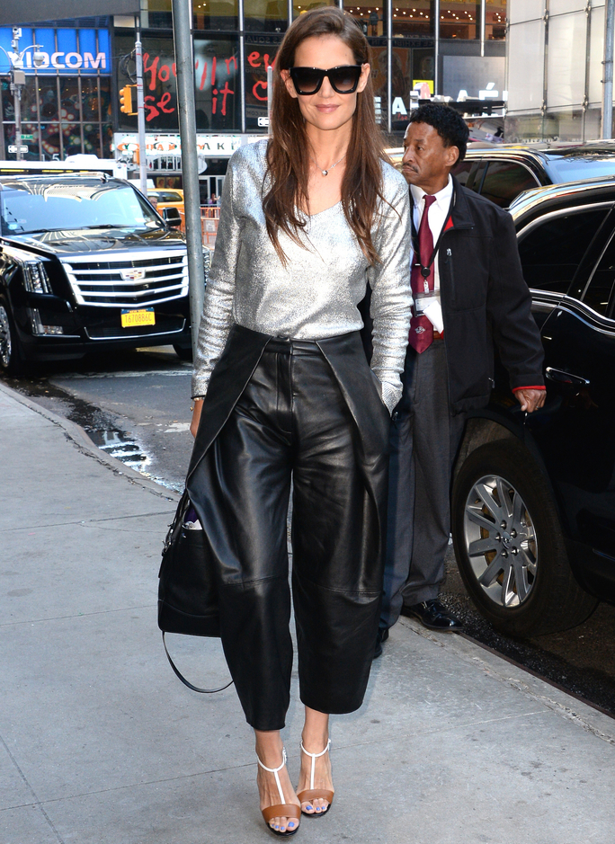 Celebrity Sightings In New York City - July 22, 2015