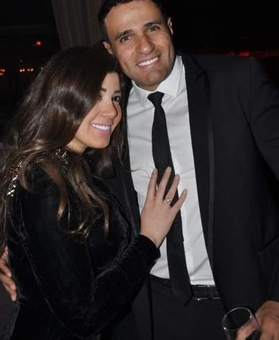 محمد نور وزوجته ياسمين