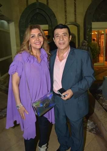 نادية مصطفى وزوجها أركان فؤاد