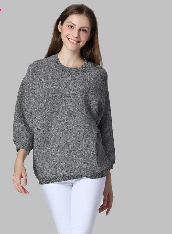 2015-Artka-Autumn-Winter-Cashmere-Sweater-Women-Fashion-O-neck-Loose-Thick-Sweater-Seven-Sleeve-One