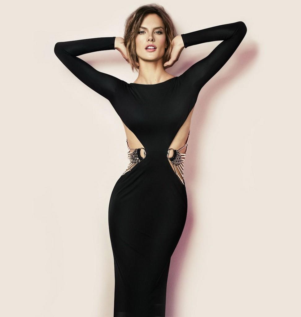 Alessandra-Ambrosio-Little-Black-Dress-