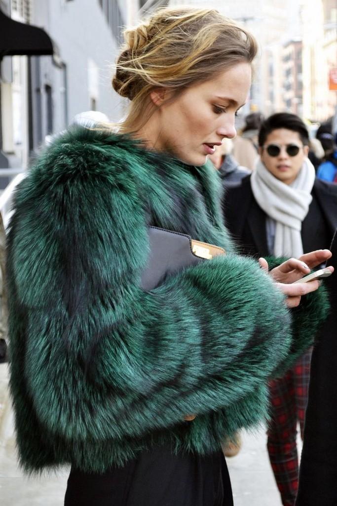 Colorful fur coat2