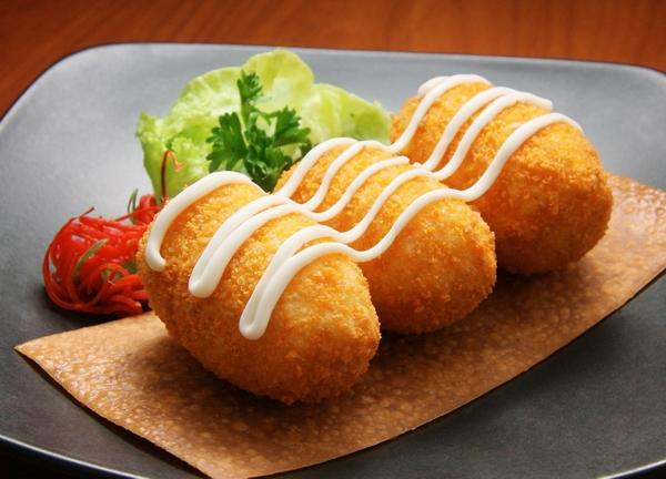 Croquette-potatoes