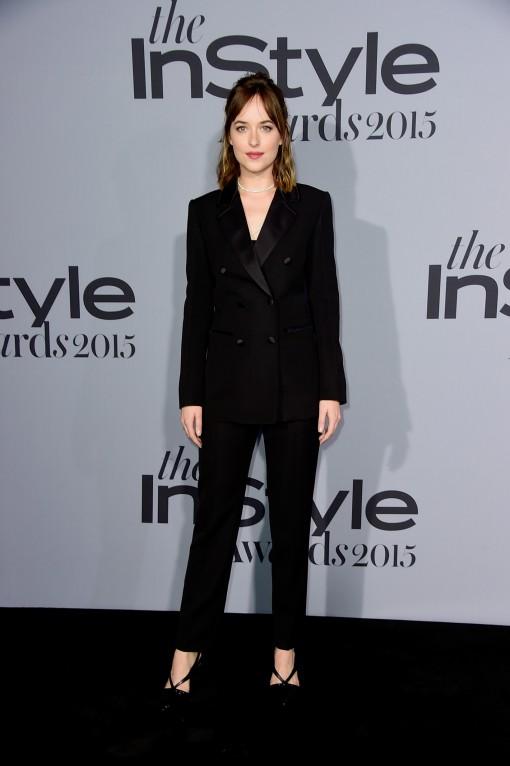 Dakota Johnson in Louis Vuitton