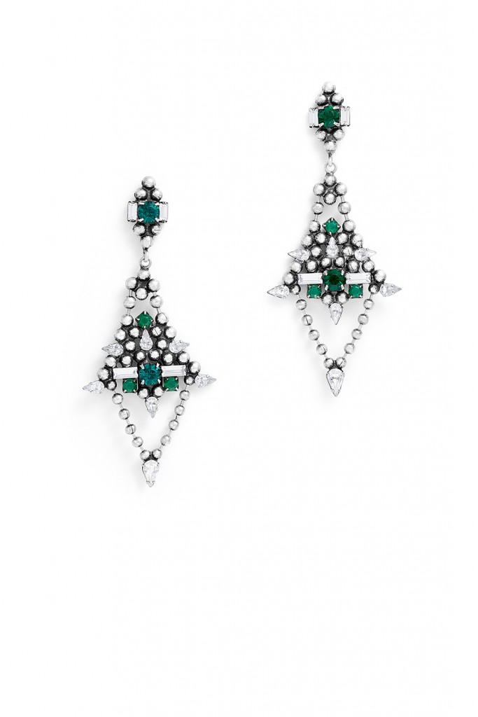 Emerald Lazarus Earrings