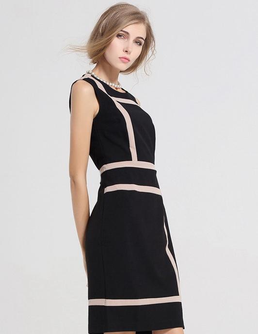 Fashion-womens-Slimming-Design-Office-Work-Dress-Prom-Pencil-dresses-Midi-bodycon-Dress-plus-size-Dress