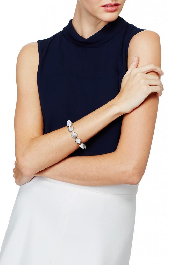 Gemstone Cone Bracelet