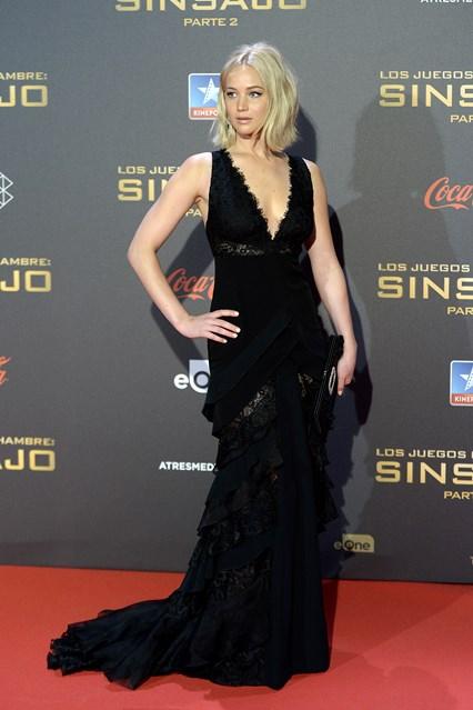 Jennifer Lawrence in Ralph Lauren