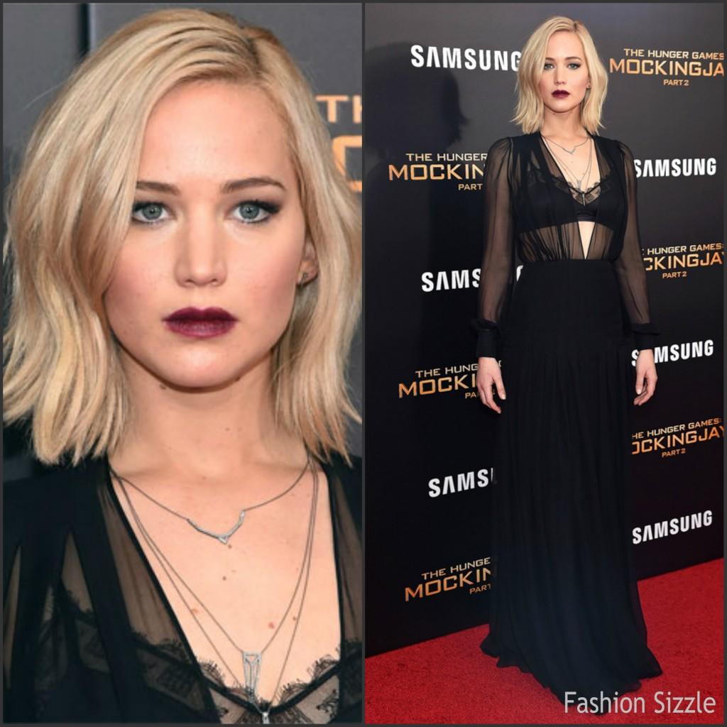 Jennifer Lawrence in Schiaparelli