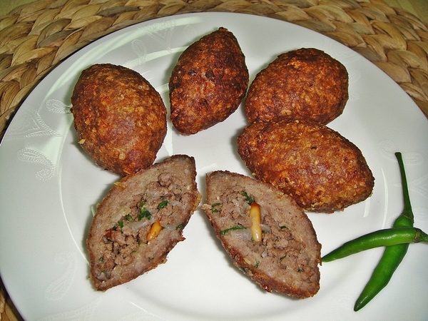 Kubba-bulgur-meat-grilled