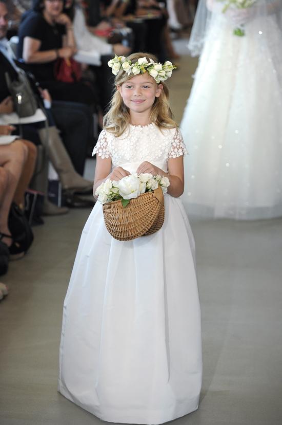 Oscar dela Renta Flower Girl Dress