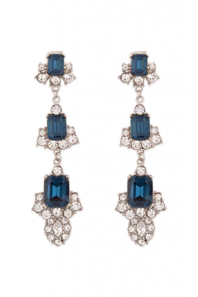 Sapphire Diana Drop Earrings