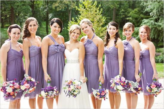 Short-Lavender-Bridesmaid-Dresses