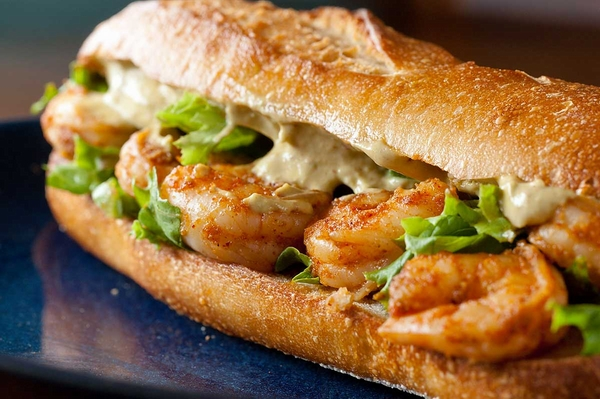 Shrimp-Avocado-Sandwich