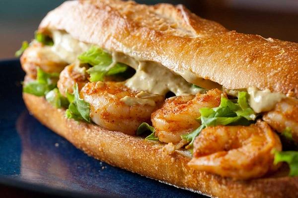 Shrimp-Avocado-Sandwich