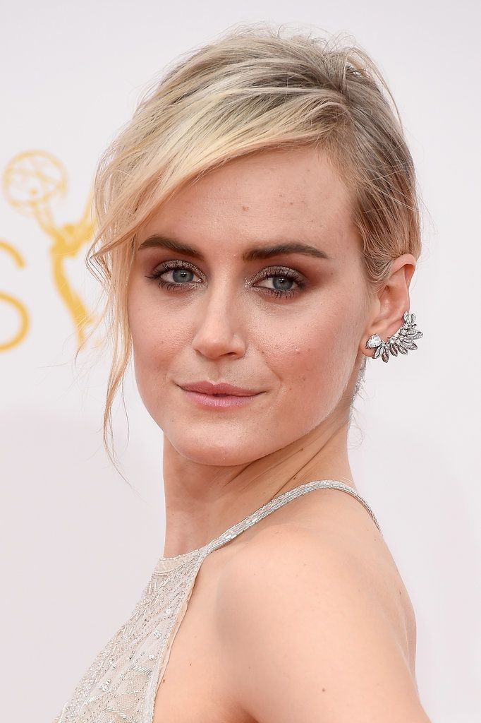 Taylor Schilling in Forevermark ear cuff