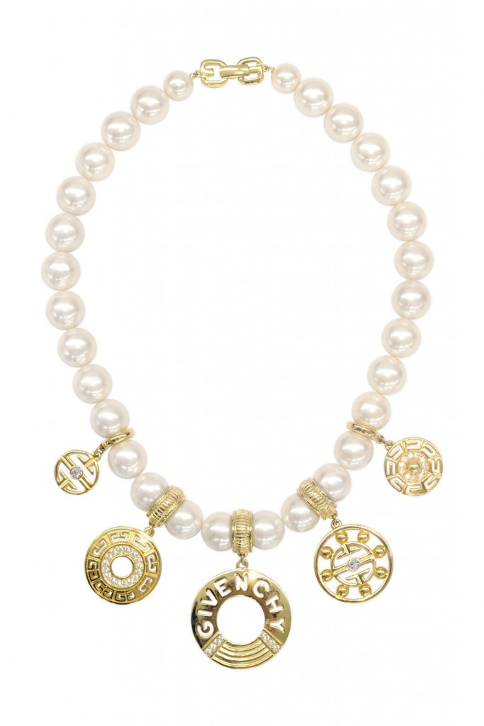 Vintage Givenchy Pearl Statement Necklace