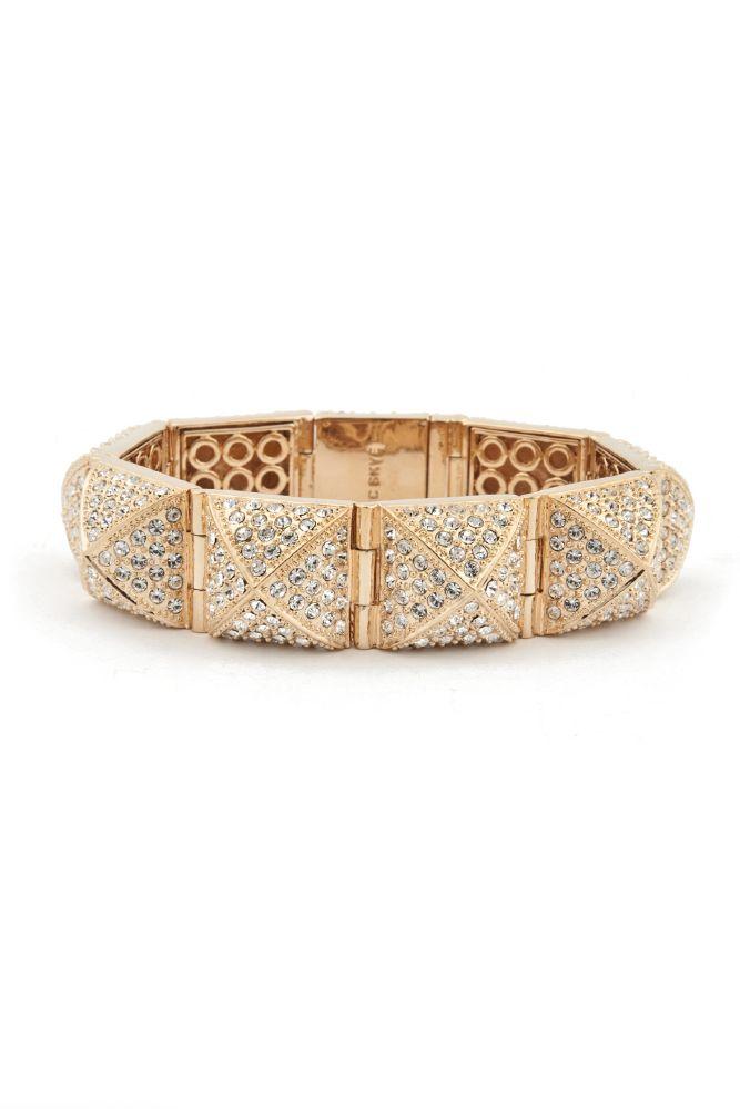 resized_Gold Pave Pyramid Stud Bracelet