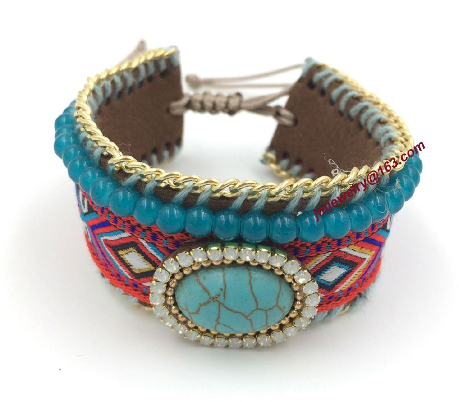 resized_New-font-b-European-b-font-Jewelry-font-b-Suppliers-b-font-turquoise-bangles-Hand-woven