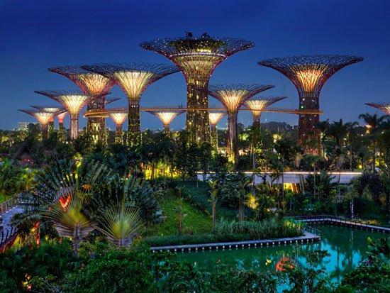 حدائق سنغافورة