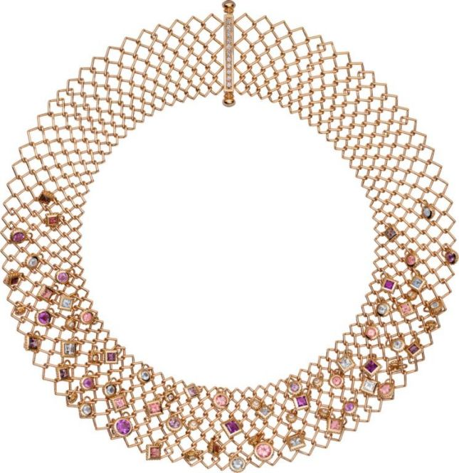عقد من Cartier من مجموعة Paris Nouvelle Vague