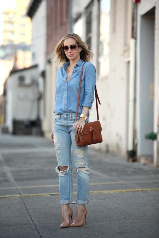 لا تستغربي من ارتداء الجينز مع الجينز؛ فهي الموضة الرائجة حالياً