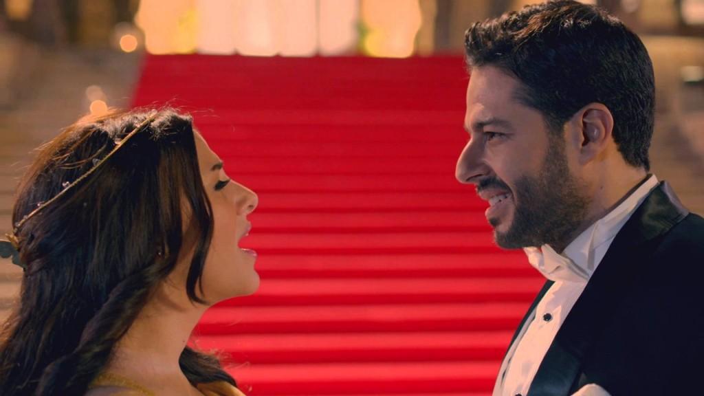 محمد حماقي ودنيا سمير غانم