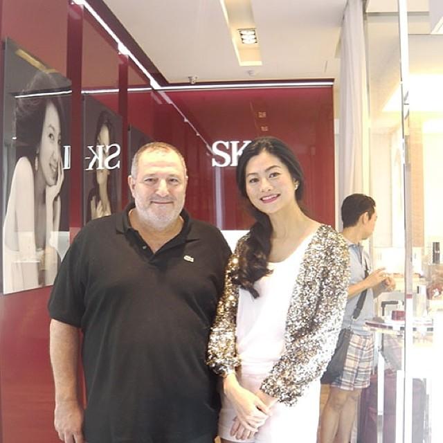 مع النجمة التايلاندية سوكان بولكول