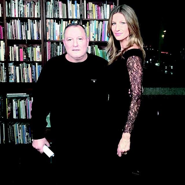 مع النجمة العالمية جيزيل بوندشون