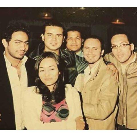 مع تامر حسني ورنده البحيري وغياث وهادي والدي جي ياسر الحريري