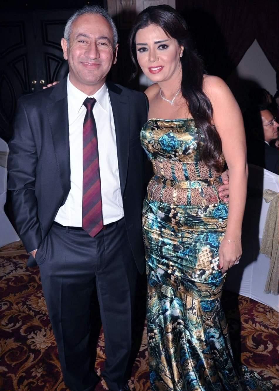 رانيا يوسف وزوجها السابق طارق العزب