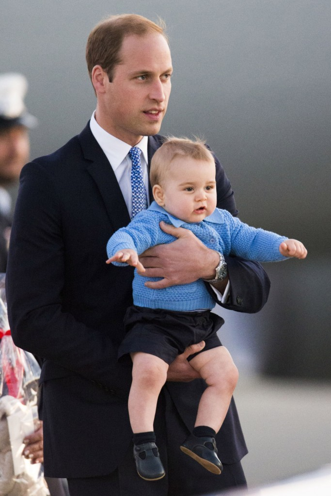 Prince William and Kate Middleton continue their Royal Tour with Prince George **USA and Canada ONLY**