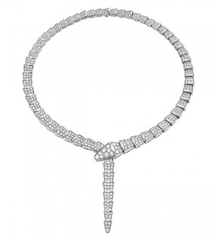 Bulgari diamond necklace