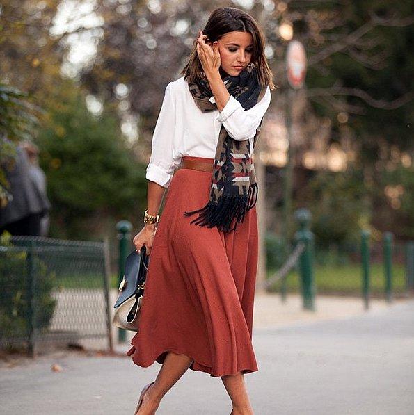 Button-Down-Midi-Skirt