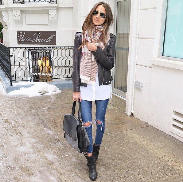 Contrasting-Slick-Leather-Jacket